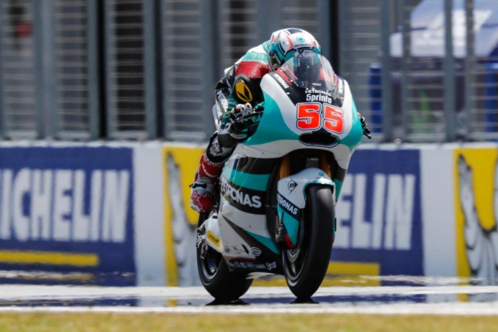 MotoGP   Syahrin in sella alla Yamaha M1 del team Tech3 a Buriram