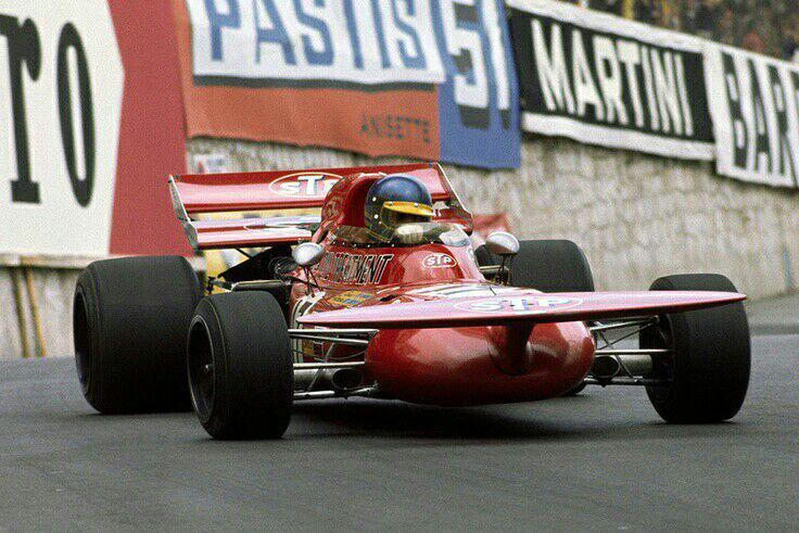 Monaco 1971: il secondo posto di Ronnie con il vassoio da the