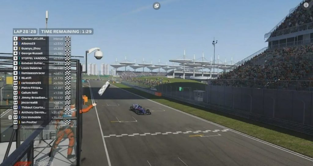 F1 | Charles Leclerc vince il Virtual GP in Cina