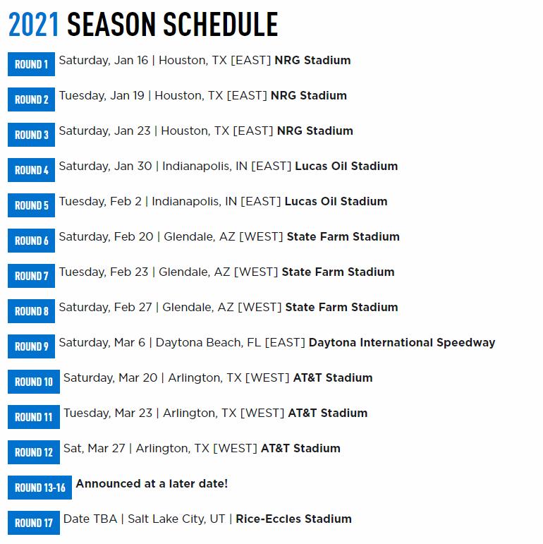 Supercross | Il calendario 2021, da Houston a Salt Lake City