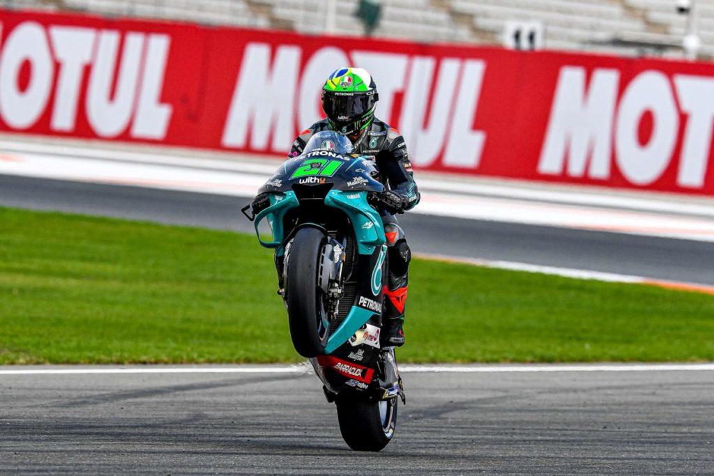 MotoGP   GP Valencia 2020: terzo successo stagionale per Morbidelli, Joan Mir è campione del mondo
